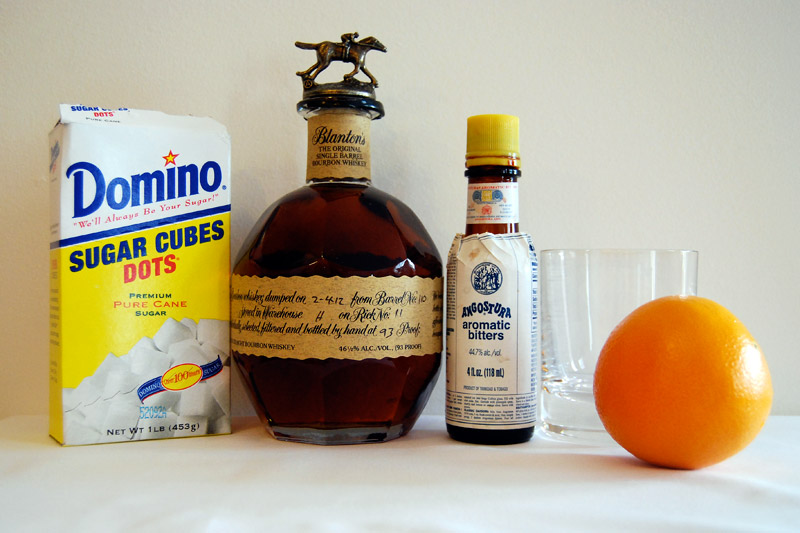 old fashioned cocktail recipe ingredients