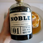 Noble Tonic 01 Tuthilltown Bourbon Barrel Matured Maple Syrup