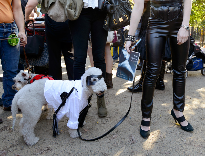 tompkins square halloween dog parade fifty shades of grey