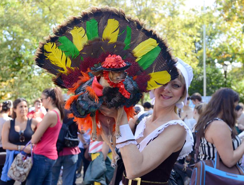 tompkins square halloween dog parade turkey