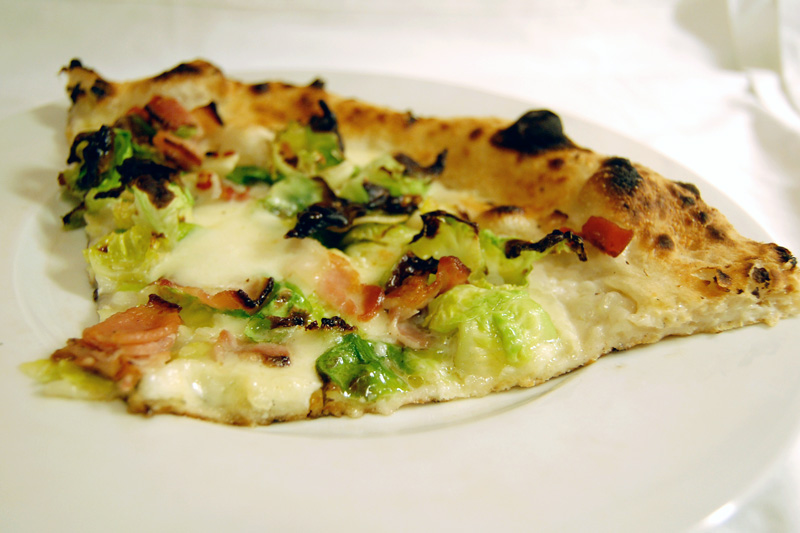 motorino brussels sprouts and pancetta pizza