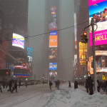 Winter Storm Jonas Takes Manhattan