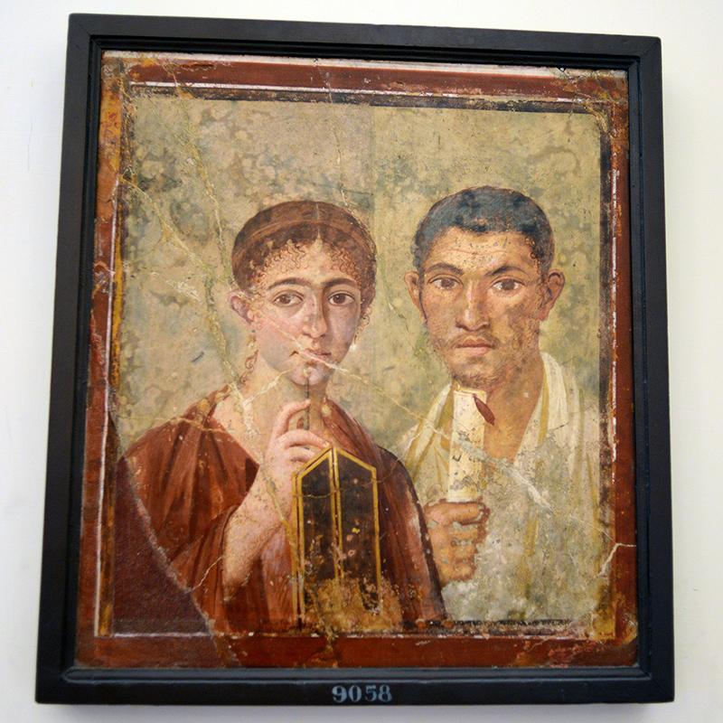 pompeii art baker